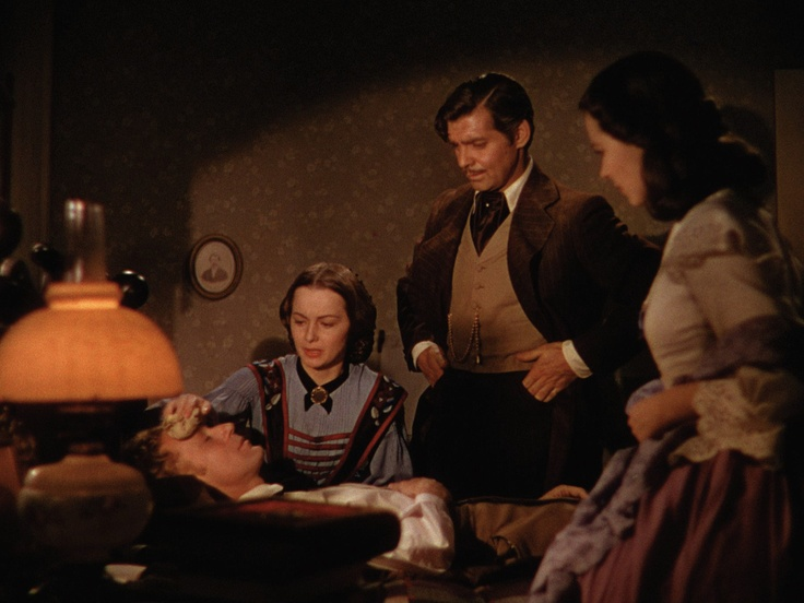 "Melanie: ""Now, Capt. Butler, tell me what happened, all that happened."" Rhett: ""I was too late. When I got to the old Sullivan place there'd already been a skirmish with the Yankees. I found Mr. Wilkes wounded and Dr. Meade was with him."