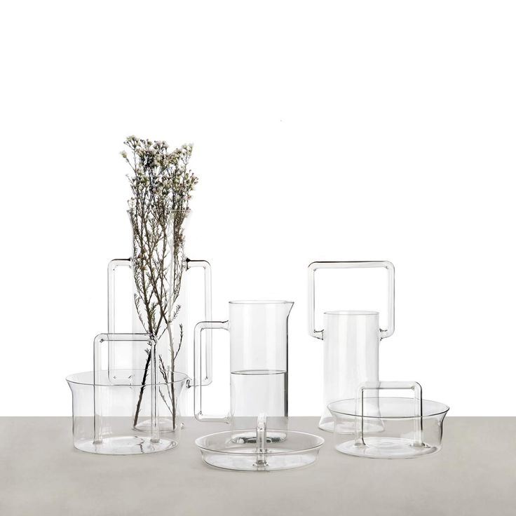 Utiles by Sam Baron  serie of hand blown vase