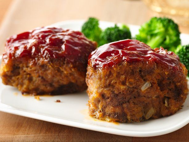 30-minute Mini Meat Loaves (Betty Crocker)  **These were so good! They were kind of a pain, and I'm not sure that making all of the tiny loaves saves much time.. but the flavor was great! Next time I might use a muffin pan to make 12 rounds instead of loaves. I used 1.5lbs Laura's Lean (no pork). I baked at 400 for about 25 min because I had a side dish that needed the lower temp. They turned out perfectly!