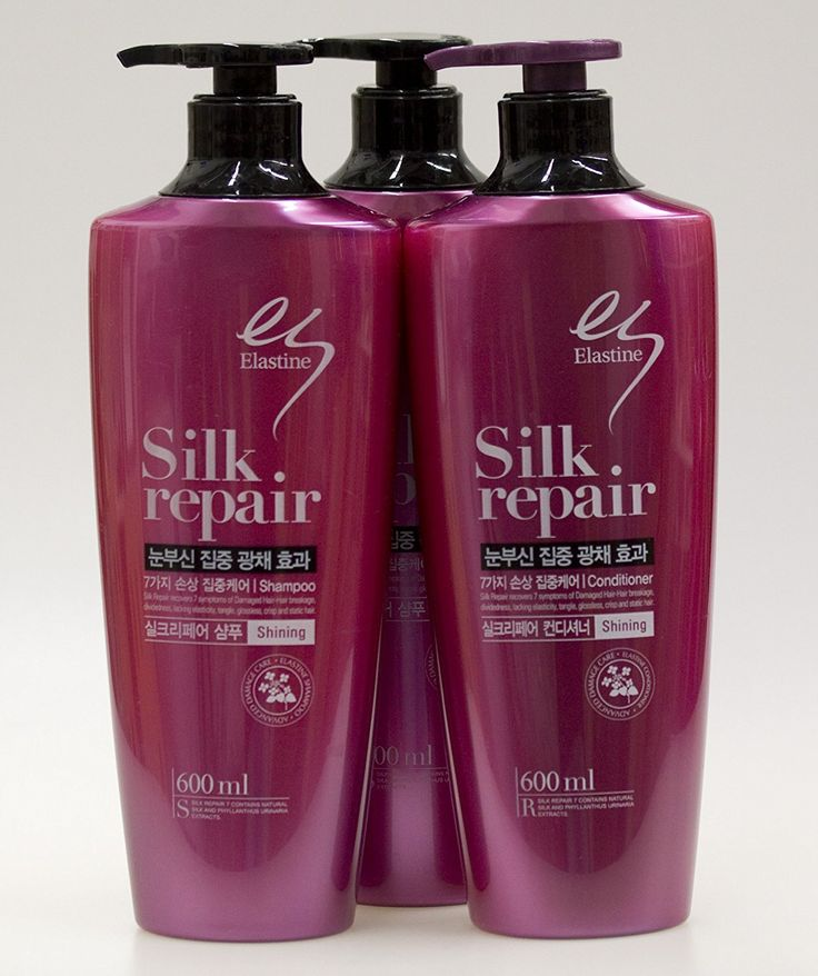LG Elastine Silk Repair7 2 Shampoos   1 conditioner * Read more details by clicking on the image. #hairclip