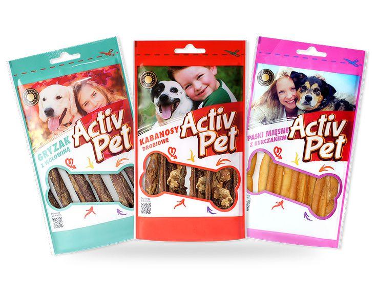 Producent nowoczesnych opakowań PLASTMOROZ poleca opakowania na przysmaki dla psów.