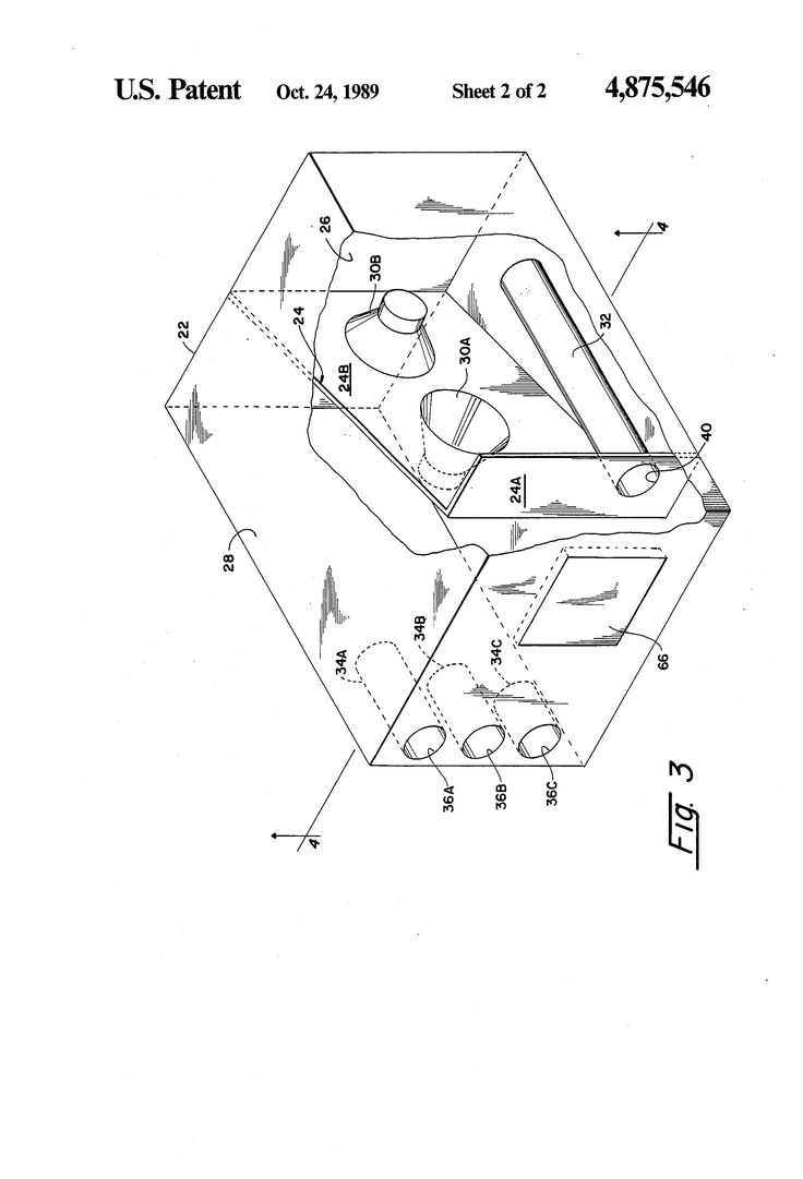 Skema box speaker woofer search results woodworking project ideas - Patent Us4875546 Loudspeaker With Acoustic Band Pass Filter Google Patents Loudspeakerdiy