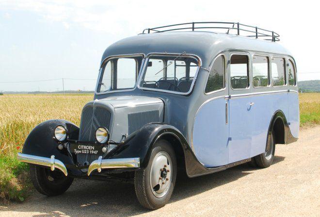 Citroën Rosalie U23 1947