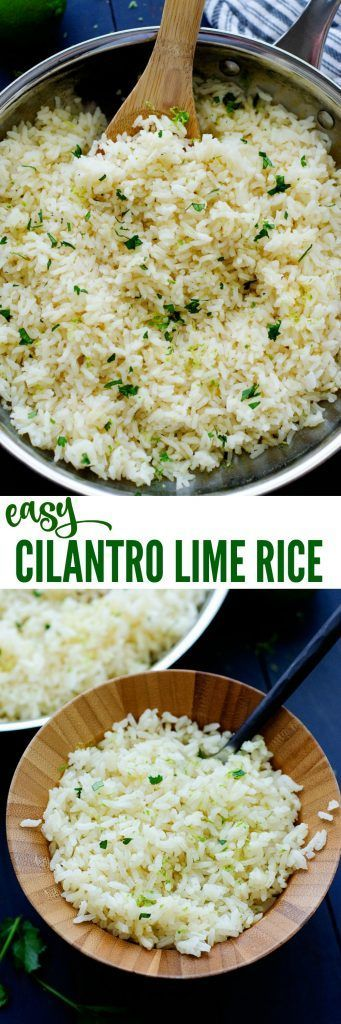 The easiest and yummiest rice ever! Perfect side for Mexican food!