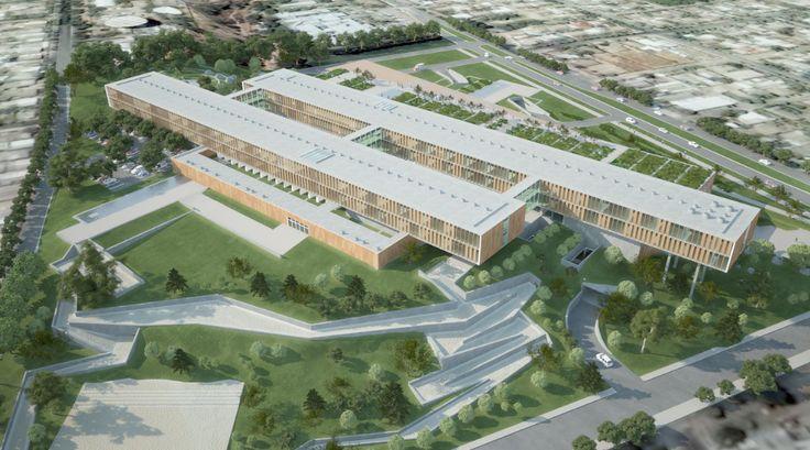 Nuevos Hospitales para Santiago: La Florida y Maipú / Murtinho   Raby h21 – Plataforma Arquitectura