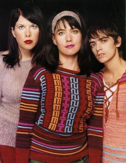 Kathleen Hanna with her sweater