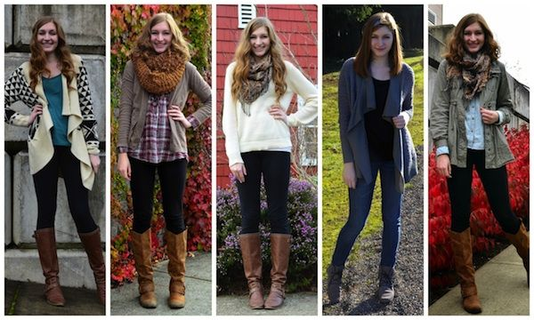 "How to Create Your College ""Uniform"" - how to make a whole fashion line fit together"