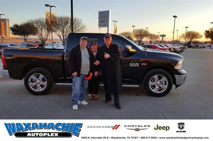 https://flic.kr/p/Qfdrfk | Happy Anniversary to Rodney on your #Ram #1500 from Mike White at Waxahachie Dodge Chrysler Jeep! | deliverymaxx.com/DealerReviews.aspx?DealerCode=F068