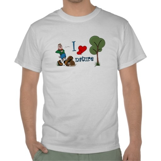 Show the others that you love nature with this funny design.