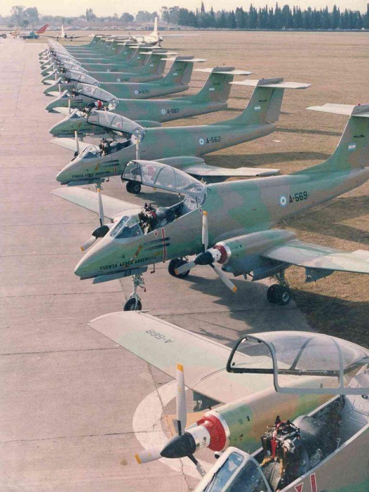 IA-58 Pucará 1982 post Malvinas