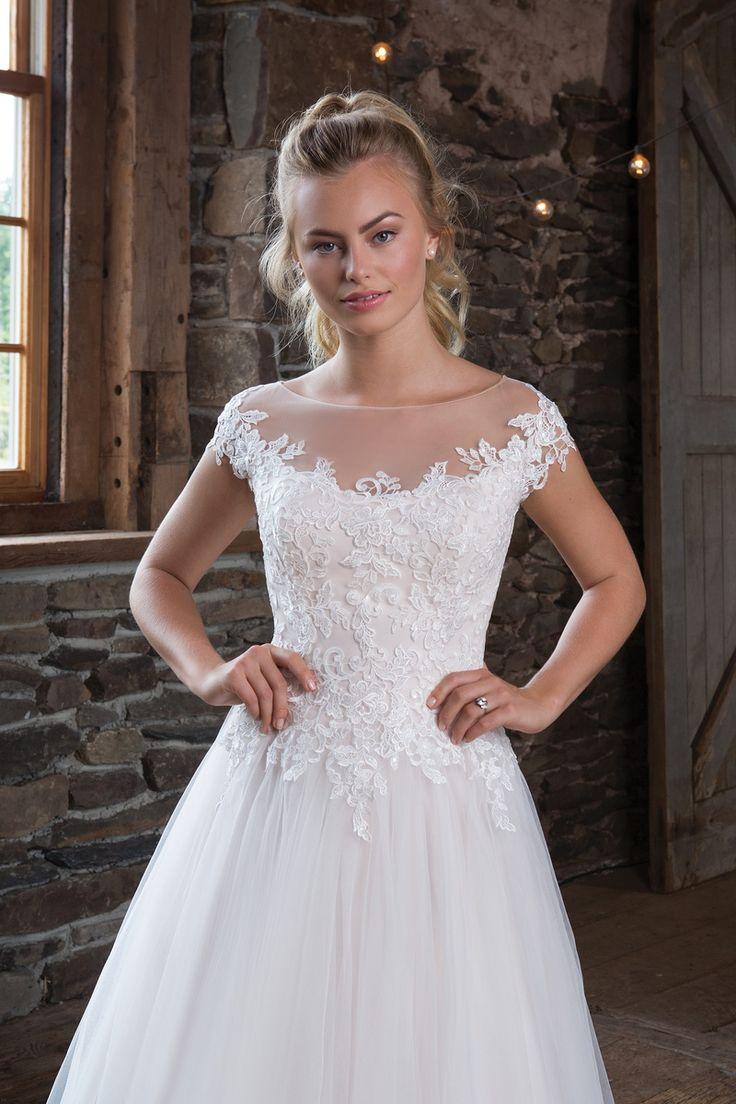 13 besten Romantische Brautkleider Bilder auf Pinterest ...