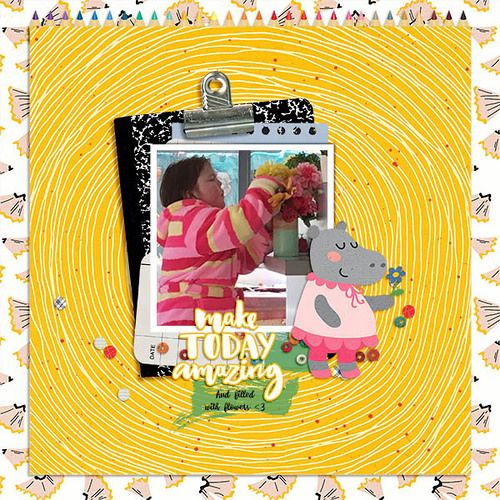 Michelle Collins - These Are My Monkeys - August Collection from HelloDreamer