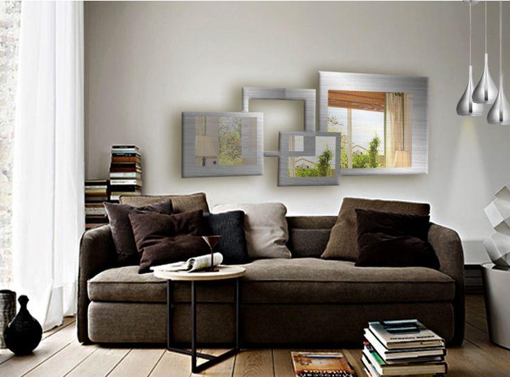 15 pines de espejos de pared decorativos que no te puedes for Ver espejos decorativos