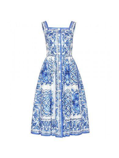 http://sellektor.com/user/dualia/collection/okomaroko Printed Cotton Dress