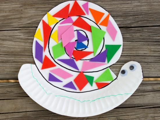 Cool project from http://www.kiwicrate.com/projects/Paper-Plate-Snail/1981: Paper Plate Snail