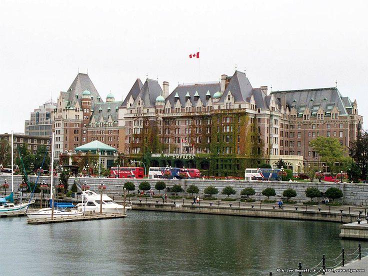 Empress Hotel, Vancouver Island ...