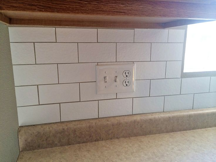 ... A Custom Backsplash With Contact Paper. The Best Part Is Its  Removeable! | Contact Paper Craziness | Pinterest | Contact Paper,  Apartments And Kitchens