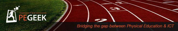 The P.E Geek | Bridging the gap between Physical Education & ICT... Een website van een Gymleraar waarin Gym, onderwijs en ICT aan elkaar gekoppeld wordt. Begonnen als persoonlijke website en hobby en uitgegroeid tot een betaalde dienst.   Naast de website zelf zijn er ook een hoop leuke voorbeelden te vinden van toepassingen.