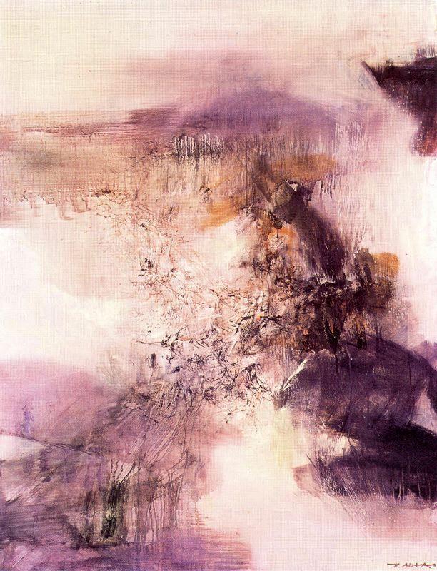 cavetocanvas: Zao Wou-Ki, 18-12-69, 1969