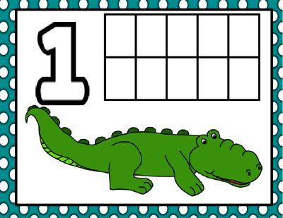Animal Number Mats 1 20 From KindergartenSwag On TeachersNotebook