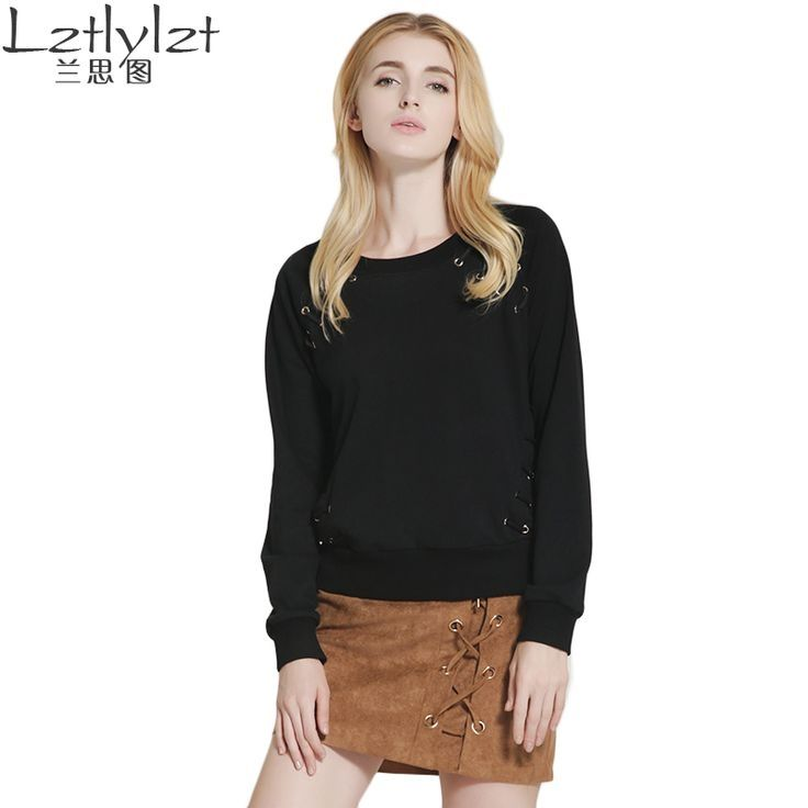 New Arrival hoodie brand Special Offer Regular O-neck Full Solid Fashion Pullovers Sweatshirts Hoodies for Women