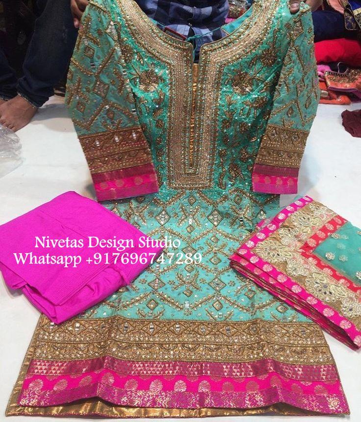 Punjabi Suitwhatsapp +917696747289 nivetasfashion@gmail.compunjabi suit - punjabi suits - suits- chooridar suit - Punjabi suitPatiala Suit - patiala salwar suits - punjabi salwar suit @nivetas Haute spot for Indian Outfits. Indian fashion meets bespoke Indian couture. We now ship world wide