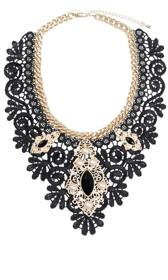 Marks And Spencer Lace Style Necklace, £15