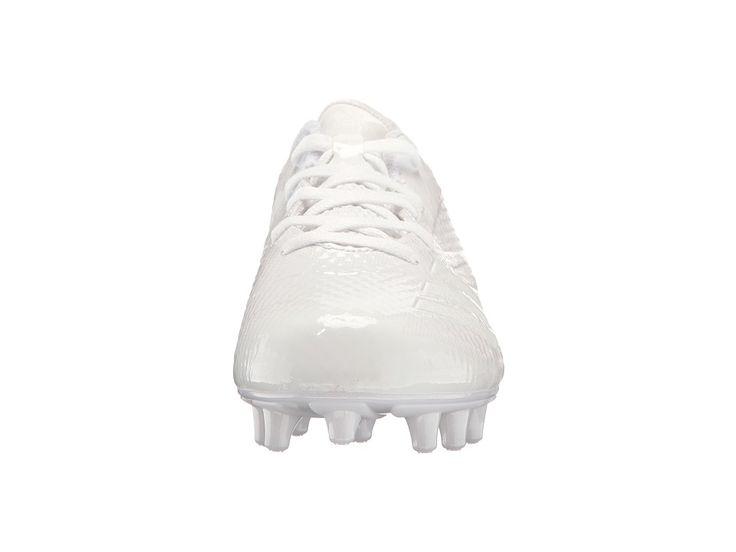 adidas Kids Adizero 5 Star 6.0 Football (Little Kid/Big Kid) Boys Shoes White