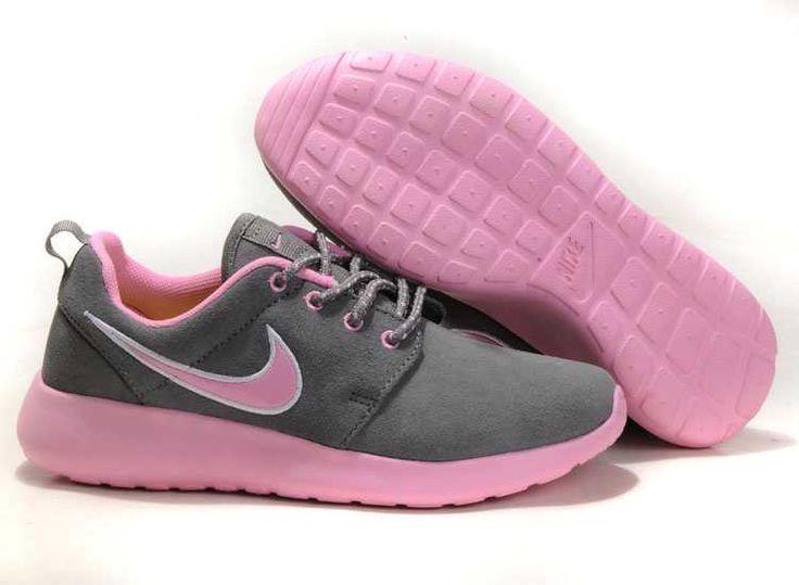 118af795e1d1 Visit New Nike Roshe Run Suede Womens Coal Black Lemon Silver Running Shoes