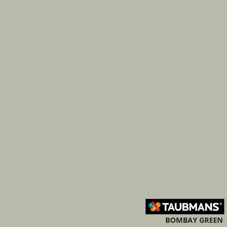#Taubmanscolour #bombaygreen