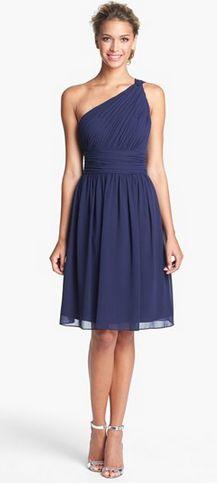 Gorgeous chiffon bridesmaid dress