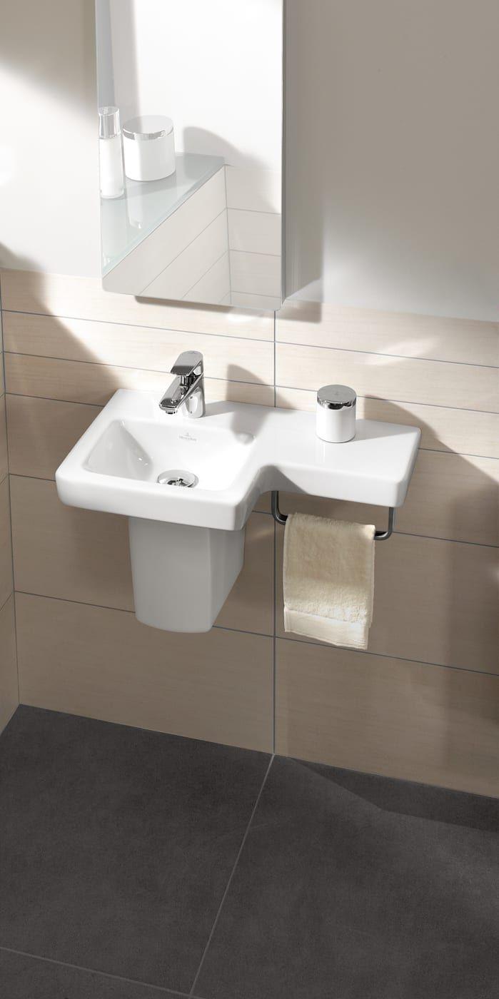 Pequenos Banos Moderne Badezimmer Von Villeroy Boch Modern Kleines Waschbecken Badezimmer Und Badezimmer Klein