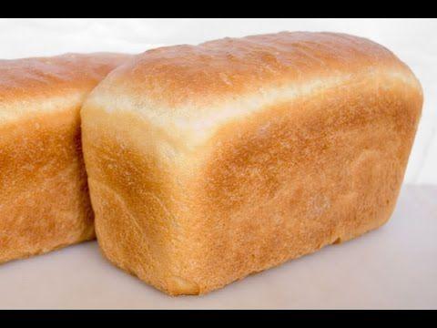Хлеб. Рецепт и выпечка домашнего белого хлеба в духовке. - YouTube