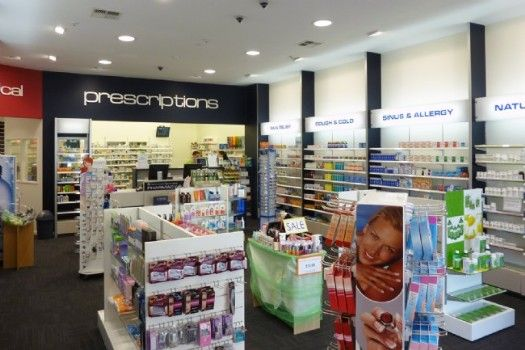 Indesign, Newmarket, pharmacy, store, design
