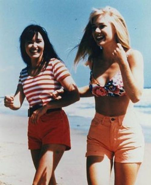 they were beautiful back then compared to the skinny girls in todays 90210