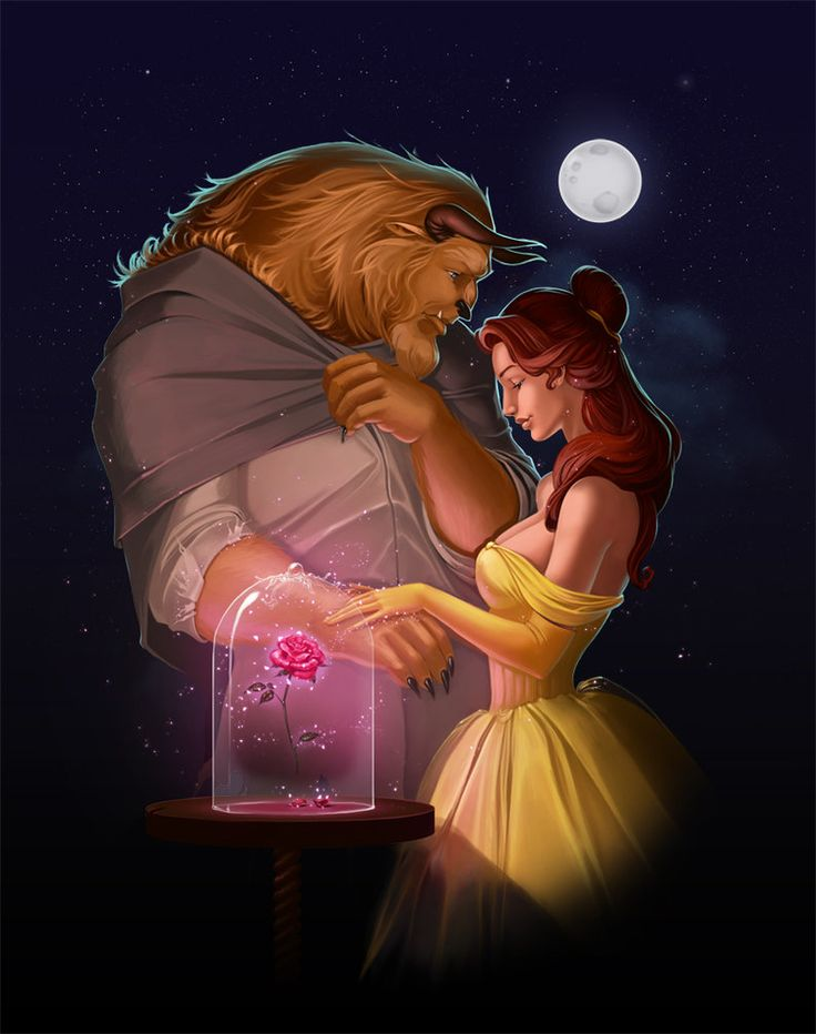 beauty and the beast by ~Diablera on deviantART