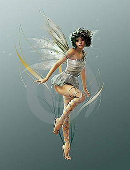 Beautifully drawn fairy...: