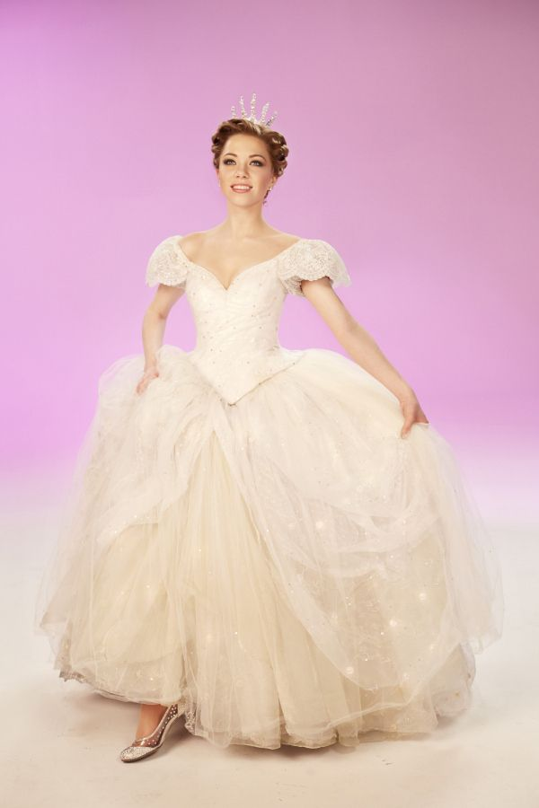 Here's the first promo shot of Carly in full Cinderella gear. | Here's A First Look At Carly Rae Jepsen As Cinderella On Broadway