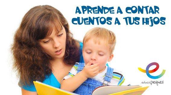 Aprende a contar un cuento a tus hijos