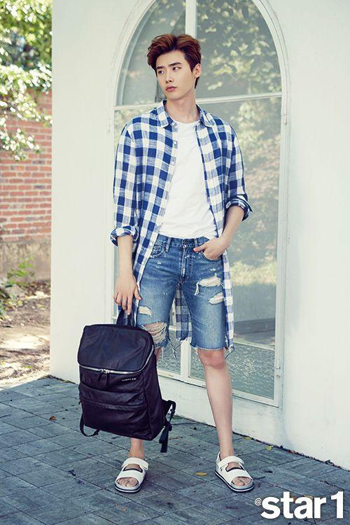 Lee Jong Suk - @Star1 Magazine July Issue '15
