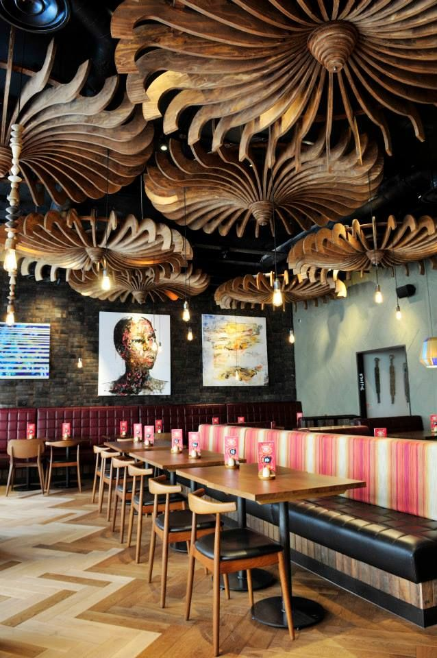 Nando's Leamington Spa, Coventry - United Kingdom (Nando's Global Art Initiative)