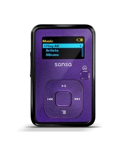 SanDisk Sansa Clip+ 4GB Indigo MP3 Player SDMX18-004G-E46I,Indigo $34.59