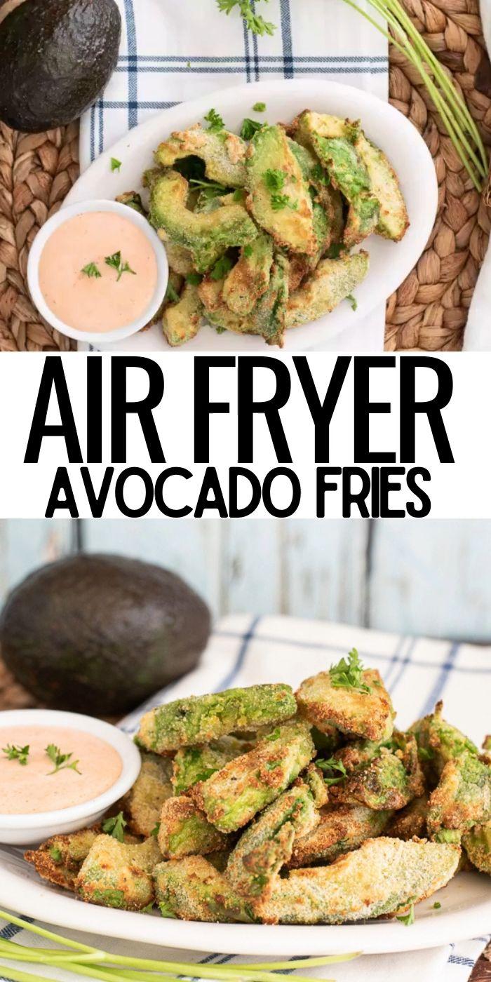 AIR FRYER AVOCADO FRIES [Video] in 2020 Avocado recipes