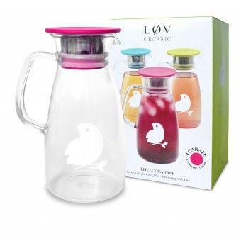 Løv Organic Tea - LØVELY CARAFE PINK