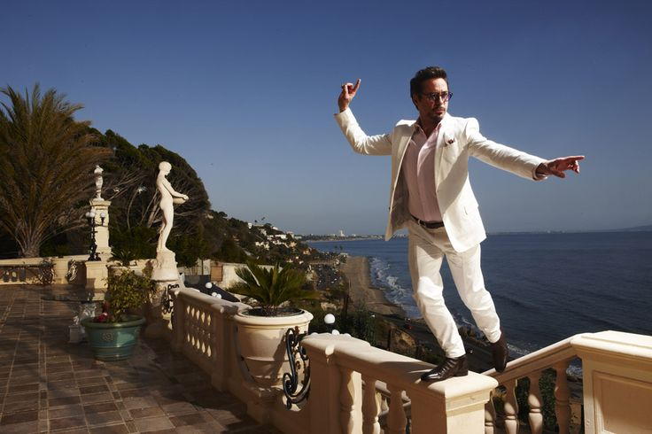 Robert Downey Jr., por Nigel Parry