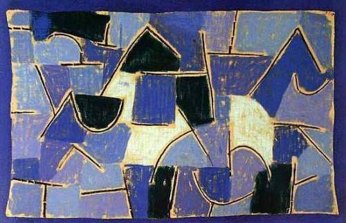 Blaue Nacht, 1937 by Paul Klee                                                                                                                                                      More