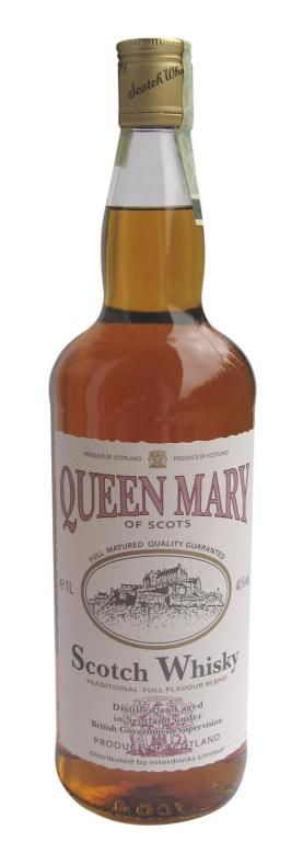 Queen Mary of Scots scotch blended whisky