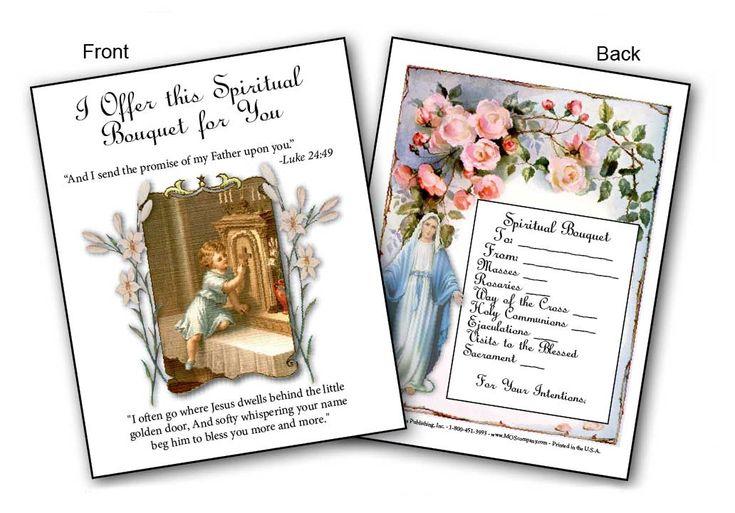 Spiritual Bouquet Cards   Spirit   Pinterest   Cards ...