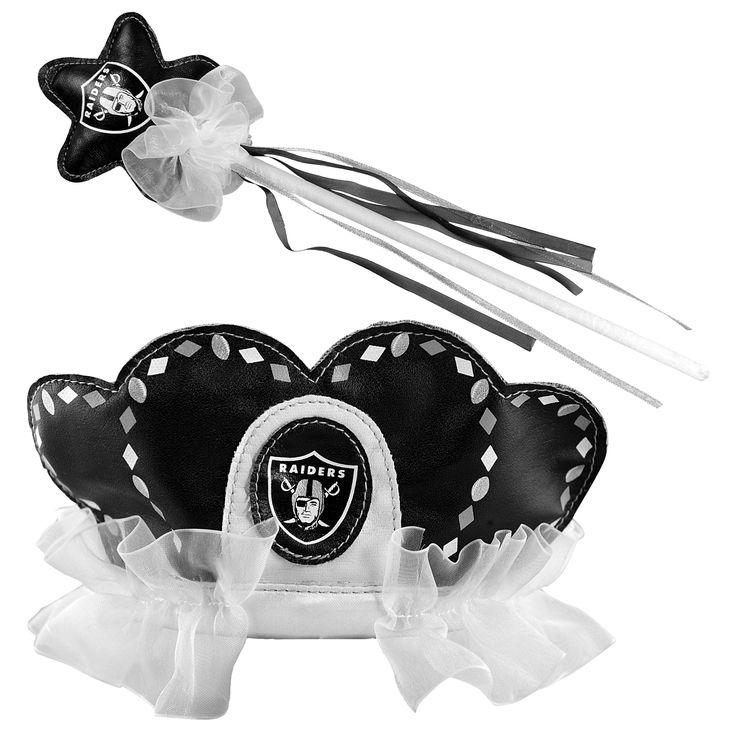 Bleacher Creatures Oakland Raiders Tiara Wand Set, Toddler Girl's