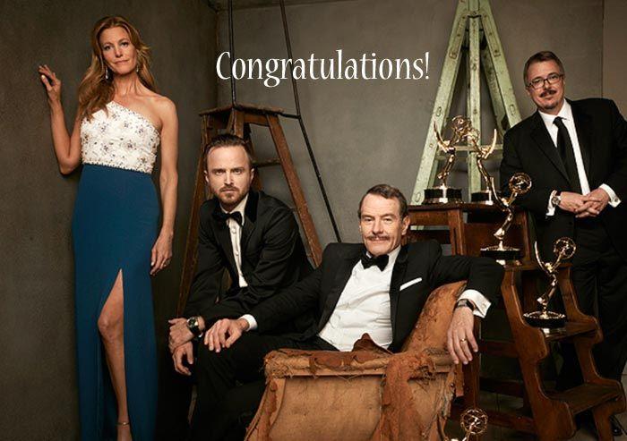 ブレイキング・バッド|エミー賞おめでとう!そしてブライアンおめでとう!